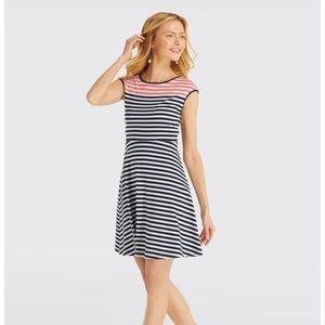 🆕Draper James Stripe Ponte A Line Dress